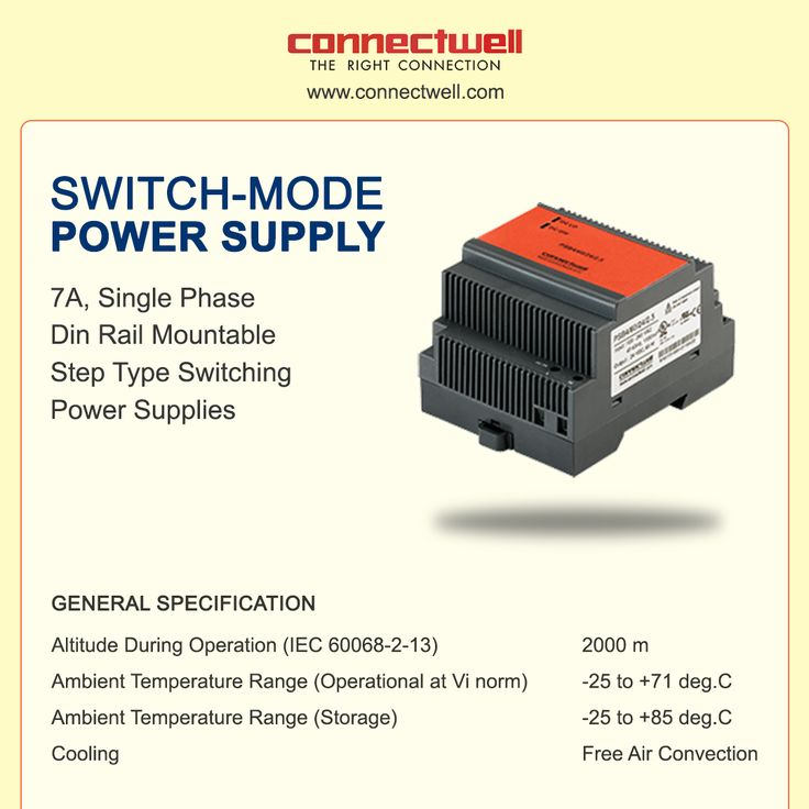 Switched-mode power supply or SMPS is an electronic power supply that incorporates a switching regulator to convert electrical power efficiently. For more details visit:http://bit.ly/2y7CUSa #SMPS #Connectwell