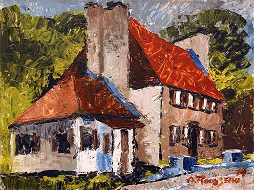 Galerie d'art Perreault de Québec - Albert Rousseau