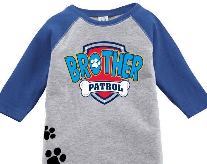 5dc71753 Paw patrol inspired birthday shirt dad patrol birthday shirt raglan jpg  680x540 Dad patrol shirt