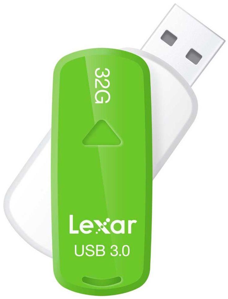 Lexar USB 3.0 S33 32GB Green | Memoria Usb  - Compra siempre al mejor precio en todoparaelpc.es. Tenemos las mejores ofertas de internet