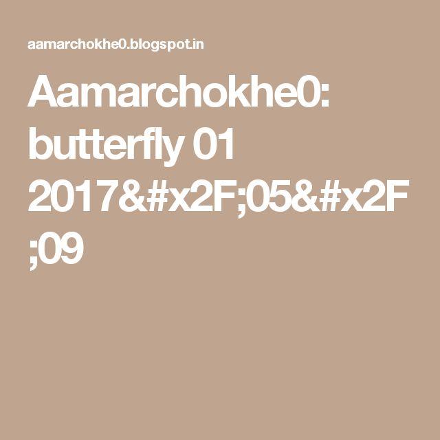Aamarchokhe0: butterfly 01 2017/05/09