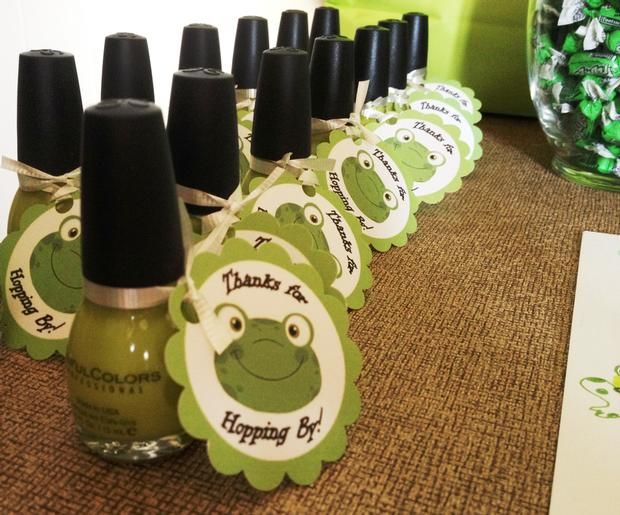 Hostess with the Mostess® - Ashlee's Frog Themed Baby Shower! love this idea!!