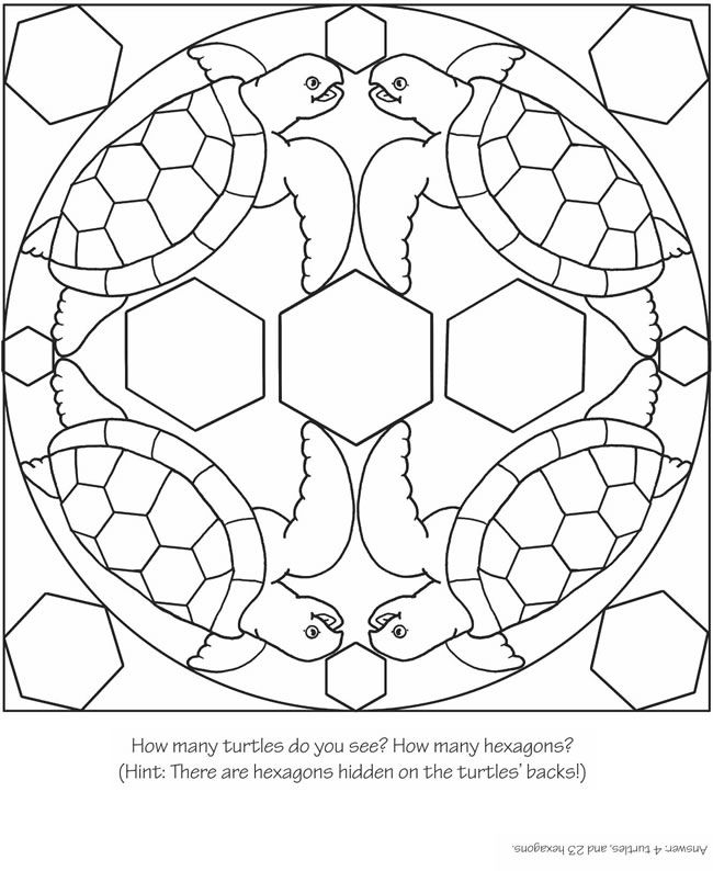 3-D Coloring Book--My First Animal Mandalas Dover Publications