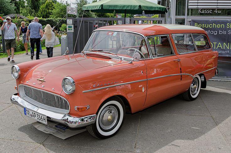 1960 Opel Olympia P1 caravan