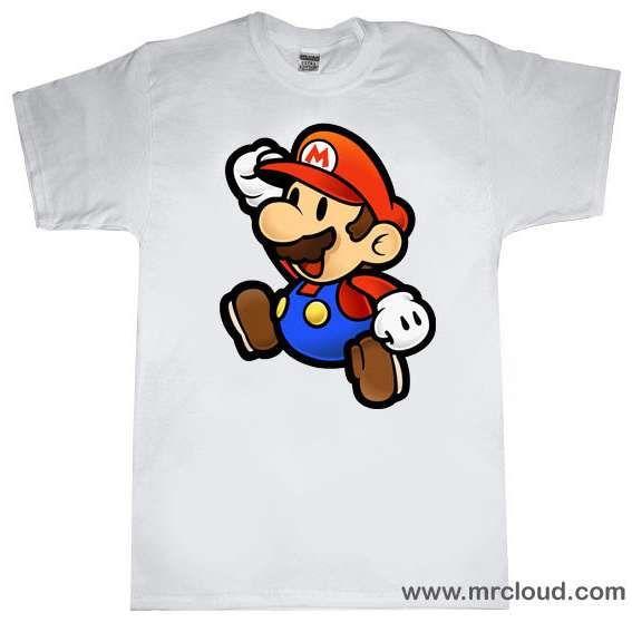 mario tshirt   Paper Mario T-shirt   ThisNext