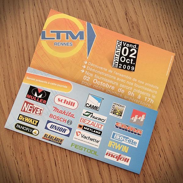 LTM  #Graphisme #Print #Invitation