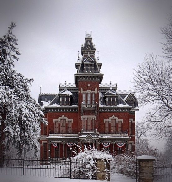 Vaile Mansion  Independence MO   I grew up not far from this grand house. I could see the top of it when I stood of my swingset slide.