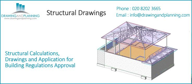http://www.prlog.org/12378947-structural-calculations-drawings-and-application-for-building-regulations-approval.html  All Structural Works are integrated with the planning drawings we create, to offer you a one stop shop for your entire planning and building regulations process..  http://www.drawingandplanning.com/residential-planning-application/drawing-for-planning/structural-drawings.html