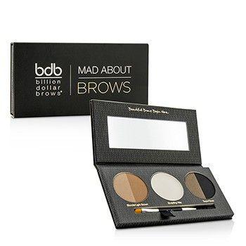 Mad About Brows Palette: 2x Brow Powder 1x Sculpting Wax 1x Mini Brow Brush