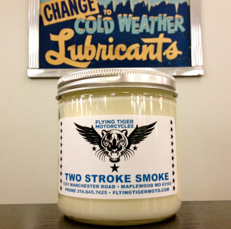 Two Stroke Smoke Candle Gotta Buy One Of These When Their