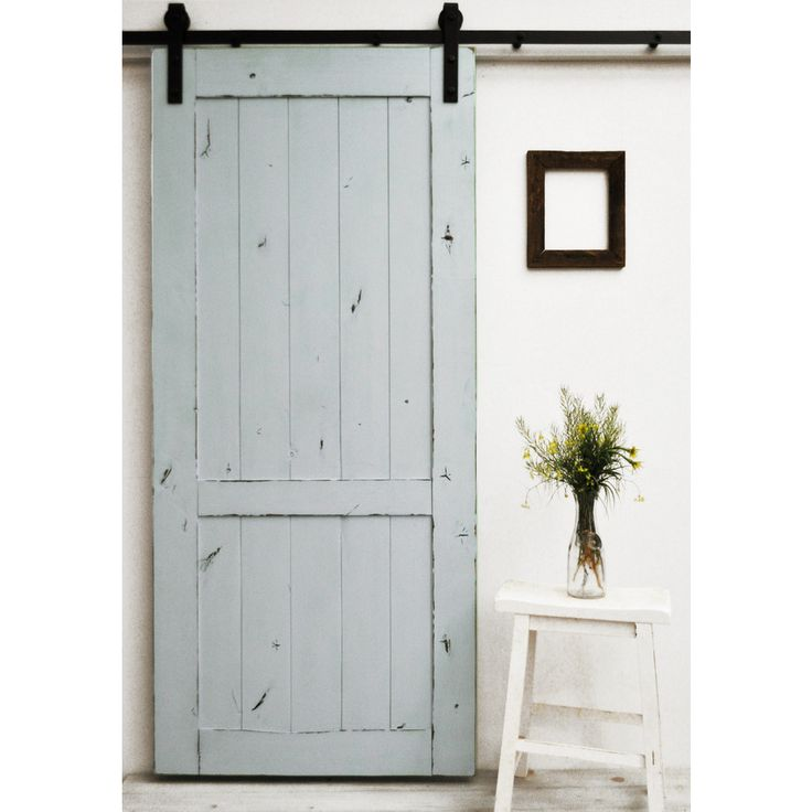 The Country Vintage Barn Door features a