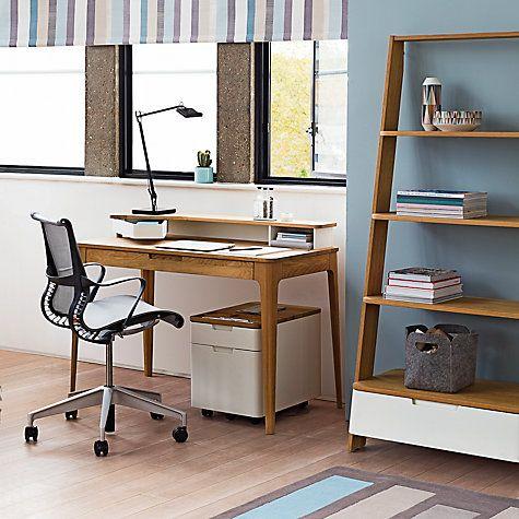Buy Ebbe Gehl for John Lewis Mira Desk Online at johnlewis com. 33 best Desks and Storage images on Pinterest