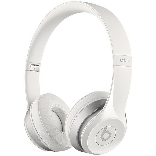 Beats by Dr. Dre Solo 2 HD High Definition On-Ear Headphones with... ❤ liked on Polyvore featuring accessories, tech accessories, headphones, technology, beats by dr dre headphones and beats by dr. dre