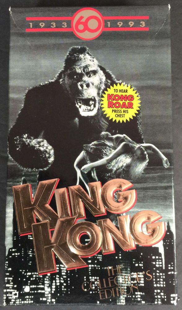 King Kong The Collector S Edition My Blu Ray Dvd Vhs