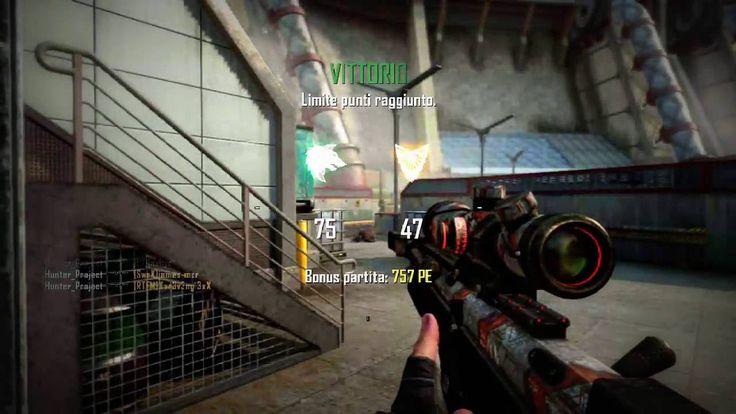 (2016) Call of Duty Black Ops 2 - TDM - DSR50 TRIPLE FEED on KILLCAM!