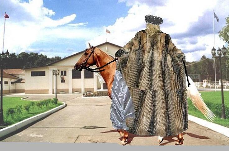 81 Best Images About Fur Coat On Horseback On Pinterest