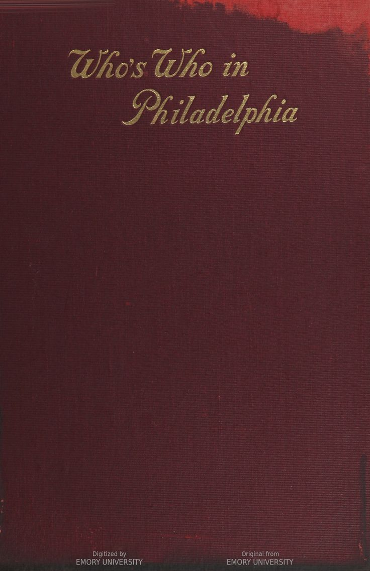 whos who in philadelphia a collection of thirty biographical sketches of philadelphia colored people - Colored People Book