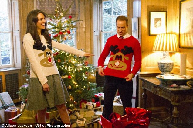 Kate Middleton and William fake christmas party | If Only ...