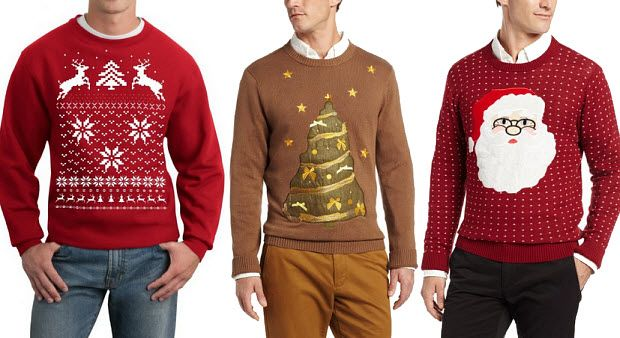 [Gift Guide] 32 Super Cool Holiday Sweaters for Boys & Dad -