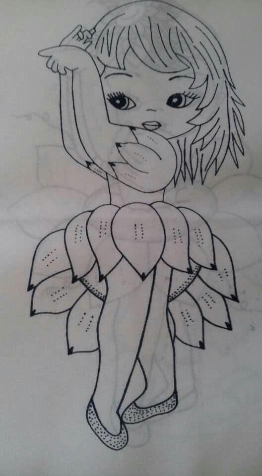 Niña girasol
