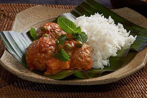 Dani Venn shares this delicious Masala lamb kofta curry.