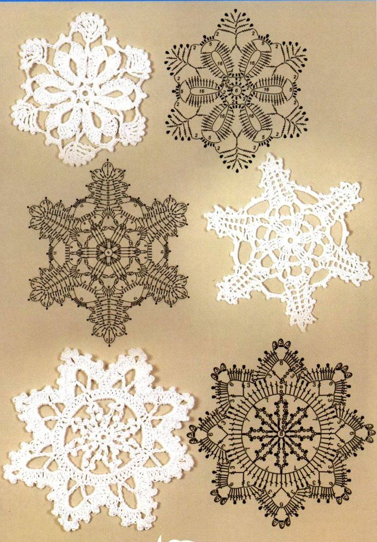 Beautiful crochet motifs. Discussion on LiveInternet - Russian Service Online Diaries