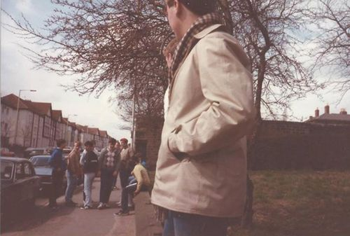 1980's football casuals.