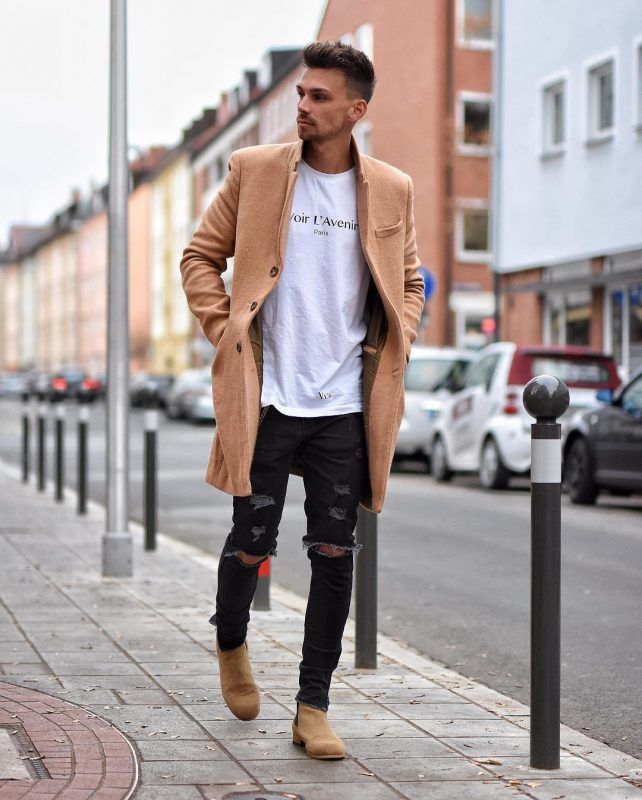 40 Casual Winter Work Outfit Ideas Featuring Men S Boots Chelsea Boots Men Outfit Mens Trendy Outfits Chelsea Boots Outfit