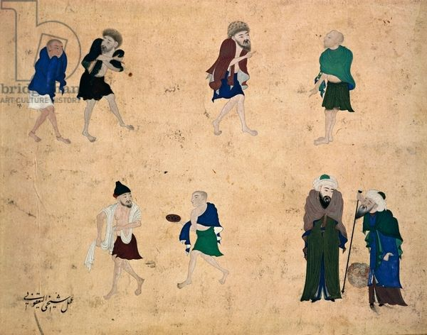 Life of the dervishes, Turkey, 15th c.