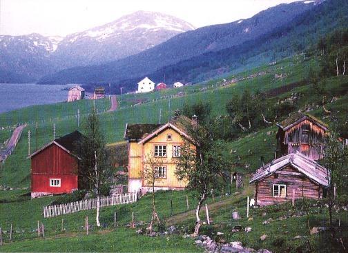 Bykle - Noorwegen