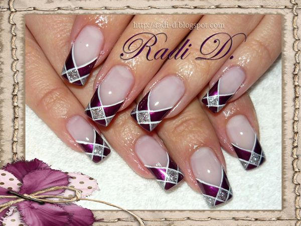It`s all about nails: Plaid design