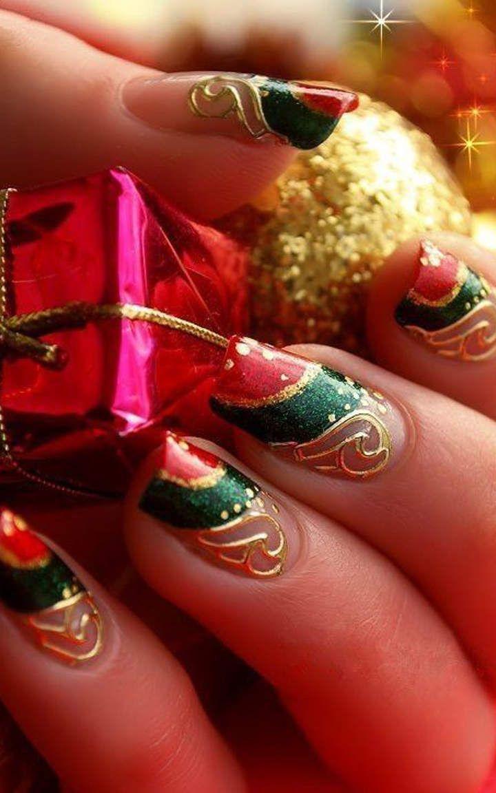 The christmas nail ornament - Christmas Nails 309 Jpg 720 1 152 Pixels