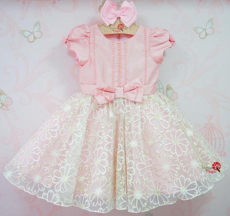 Árvore Mágica - Vestido de Festa Infantil Princesa Kate Petit Cherie