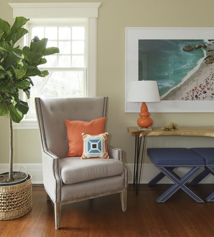 best living room chair%0A A Before  u     After Living Room Transformation  Find out how to make your  living space