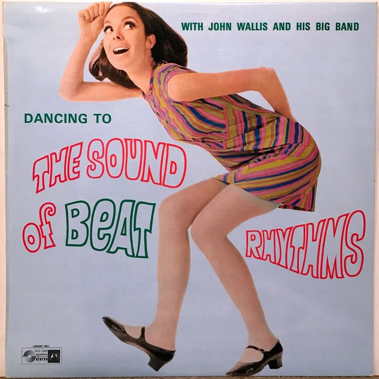 John Wallis and His Big Band - Dancing to the Sound of Beat Rhythms (Concert Hall Records; 1968) Australian LP #albums #records #vinyl #LP