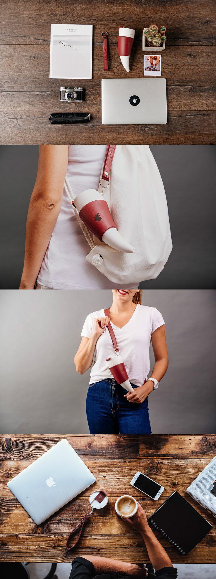A BAAAAAAHESOME COFFEE MUG! Read more at Yanko Design