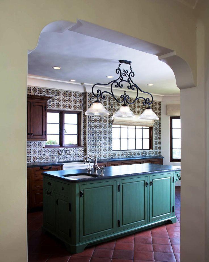 Spanish Revival, Kitchens