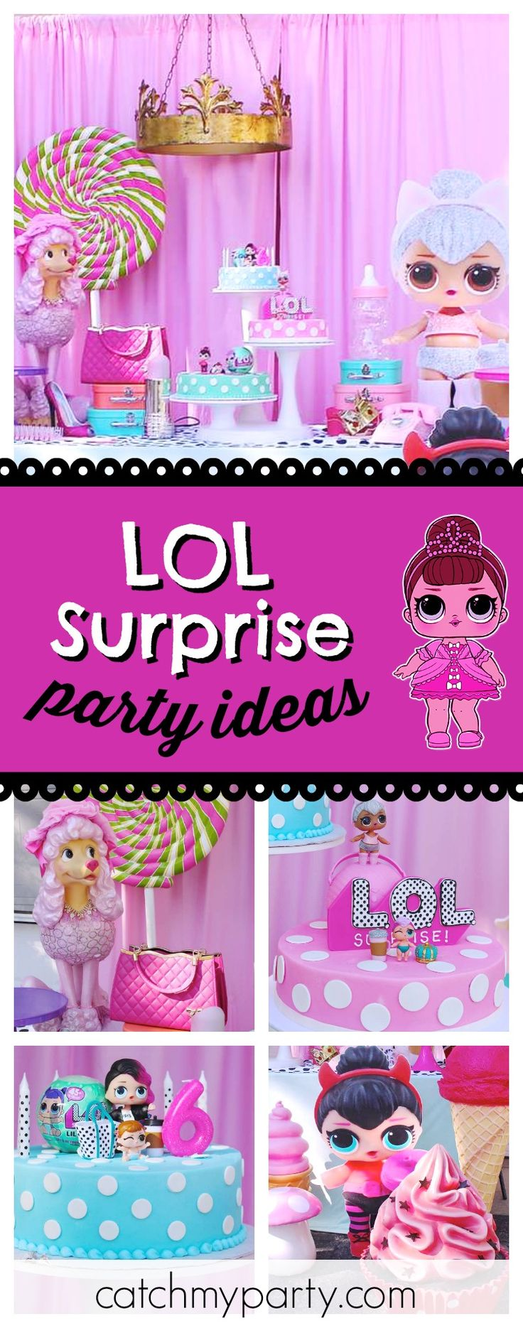 year birthday invitatiowordingiindiastyle%0A Check out this awesome LOL Surprise dolls birthday party  The dessert table  and decor are