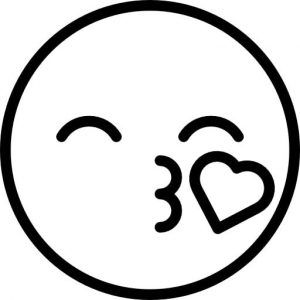 Spotlight Emoji Coloring Pages Janessa Gabby Pinterest