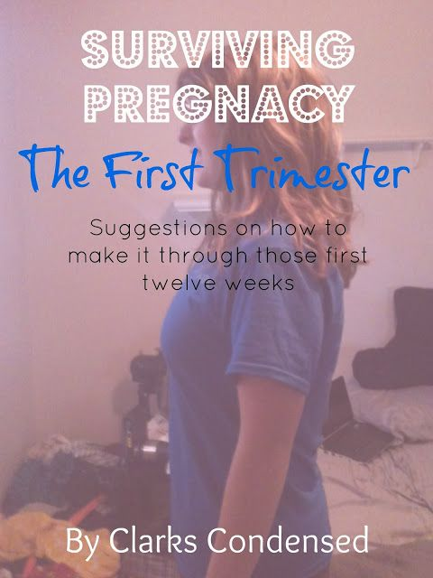 Surviving Pregnancy: The First Trimester. Tips on How to Make it Through those first 12 weeks!
