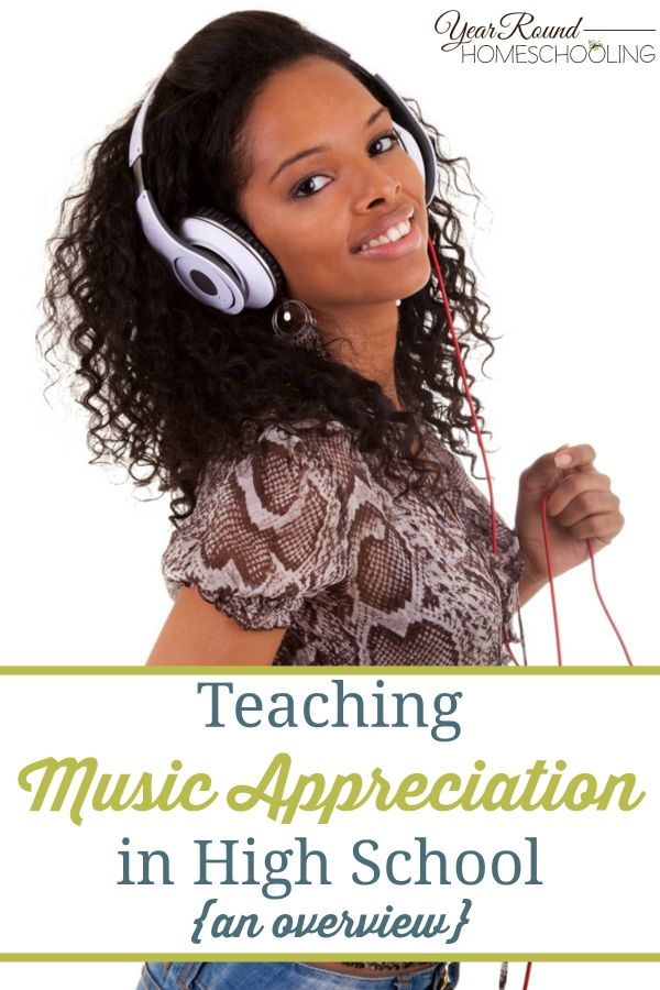 Teaching Music Appreciation can seem like a daunting task. However, it can be FUN and ENJOYABLE - even if you're not musical! Find out how in this post! :: www.yearroundhomeschooling.com
