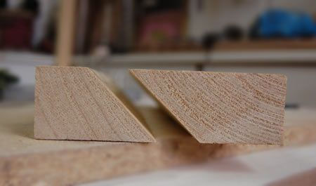 Need to hang a heavy mirror or object on a wall?  Use a French Cleat.  Here is how you make one.  Amazing and so sturdy.