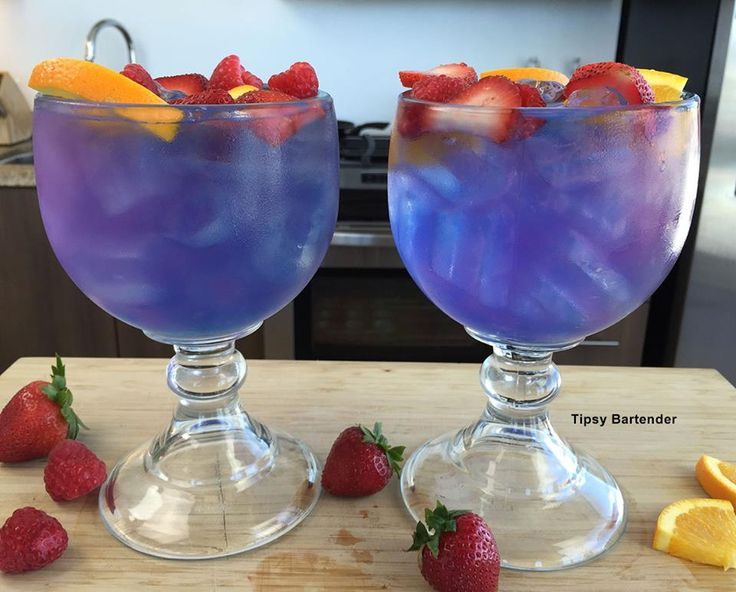 Check out the Caribbean Storm! This impressive cocktail is just as tasty as it is beautiful. Click here for the recipe: http://www.tipsybartender.com/blog/the-caribbean-storm