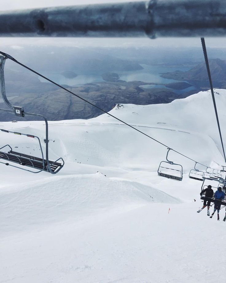 Ski days at Treble Cone, Wanaka, New Zealand    See this Instagram photo by @studiohome • 246 likes