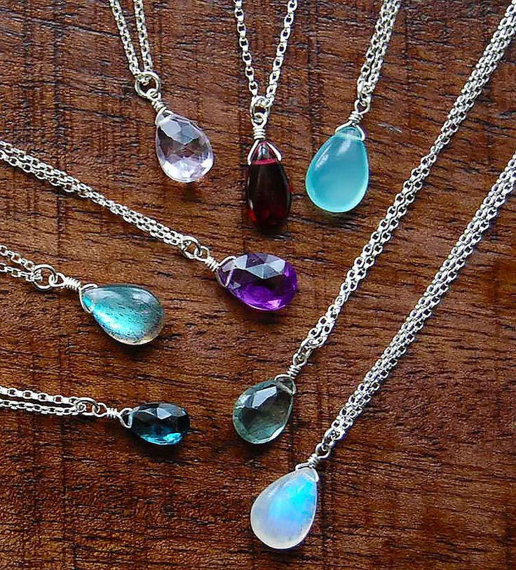 Dianne Rodger's Jewellery Solo Gemstone Necklace
