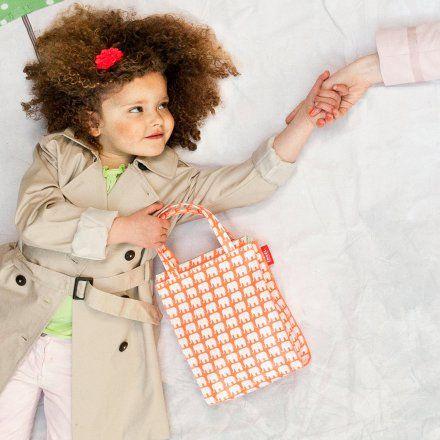 Shopper Elephant neon orange klein von ENGEL jetzt im design3000.de Shop kaufen! Taschen sind nützliche, alltägliche Begleiter. Und die Shopper von...