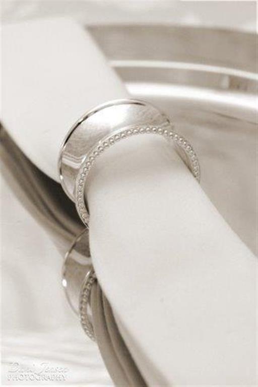 Silver Napkin Rings form E by A - www.ebya.co.za anne@ebya.co.za
