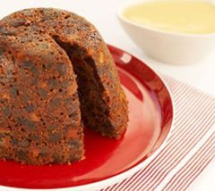 Easy and delicious slow cooker Christmas Pudding. Sunbeam Australia.