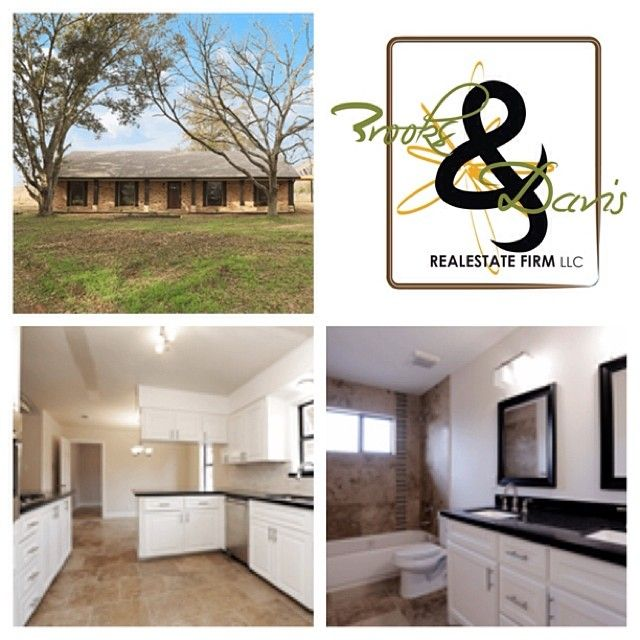 Waller-TX New Listing - It sits on One Acre   Price: $229,000.00 Key Features • It sits on ONE ACRE • New Septic • New Well • New HVAC • New Roof • New Kitchen and baths • Travertine Tile and Hardwood Floors  CONTACT US FOR YOUR REAL ESTATE NEEDS!!!  Brooks & Davis Real Estate Firm, LLC 713.665.8329 | 281.924.4954