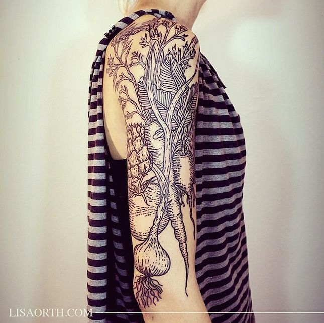 Black, white and RAD all over. Meet our latest tattoo artist crush.